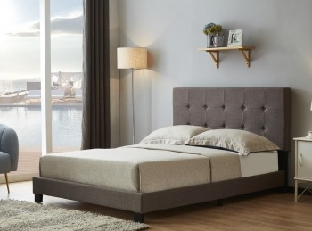Birlea Rochelle 3ft Single Grey Fabric Bed Frame