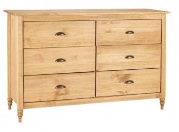 Birlea Pembroke Pine 6 Drawer Chest