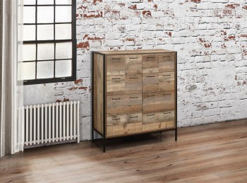 Birlea Urban Rustic Finish Merchant Chest