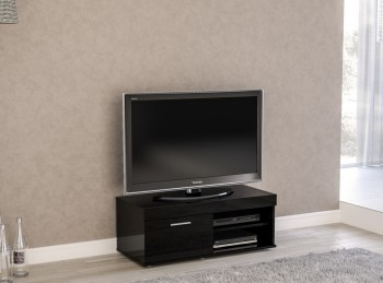 Birlea Edgeware Small TV Unit In Black