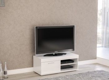 Birlea Edgeware Small TV Unit In White