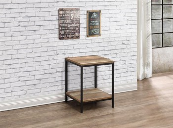 Birlea Urban Rustic Finish Lamp Table