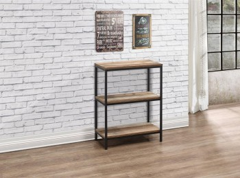 Birlea Urban Rustic Finish 3 Tier Bookcase