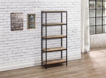 Birlea Urban Rustic Finish 5 Tier Bookcase