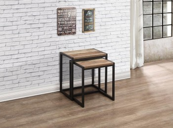 Birlea Urban Rustic Nest Of Tables