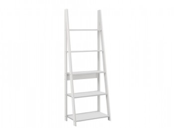 Birlea Dayton Ladder Bookcase In White