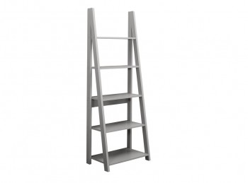 Birlea Dayton Ladder Bookcase In Grey