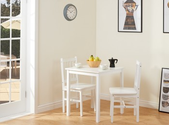 Birlea Somerset White Dining Set