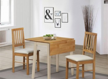 Birlea Lille Drop Leaf Dining Set