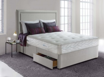 Sealy Posturepedic Jubilee Ortho 3ft6 Large Single Divan Bed