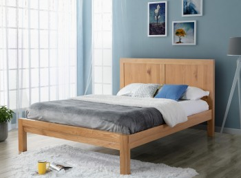 Birlea Bellevue 5ft Kingsize Oak Wooden Bed Frame