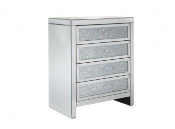 Birlea Vienna 4 Drawer Mirrored Chest