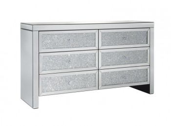 Birlea Vienna 6 Drawer Mirrored Chest