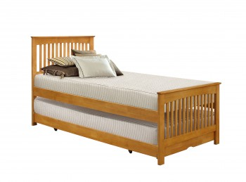 Birlea Toronto 3ft Single Wooden Guest Bed Frame In Oak