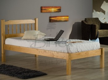 Birlea Santos 3ft Single Pine Wooden Bed Frame