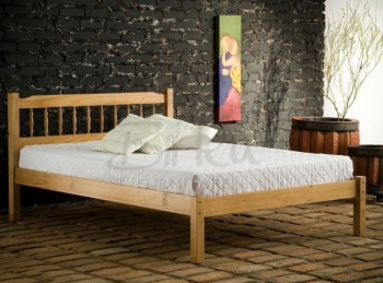 Birlea Santos 4ft Small Double Pine Wooden Bed Frame