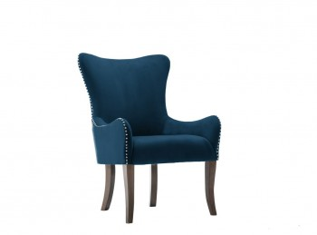 Birlea Ellis Armchair In Midnight Blue Fabric