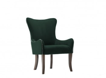 Birlea Ellis Armchair In Green Fabric