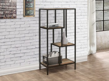 Birlea Urban Rustic Finish Medium SIze Shelving Unit