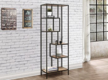Birlea Urban Rustic Finish Tall Shelving Unit