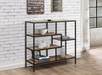 Birlea Urban Rustic Finish Wide Shelving Unit