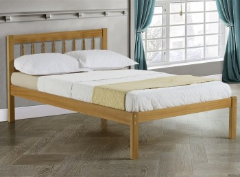 Birlea Santos 4ft6 Double Pine Wooden Bed Frame