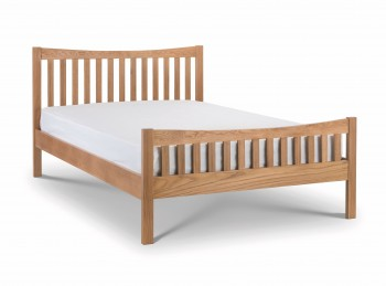 Julian Bowen Bergamo 4ft6 Double Oak Bed Frame