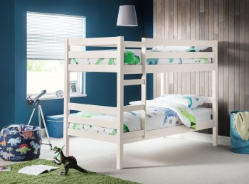 Julian Bowen Camden Surf White Wooden Bunk Bed