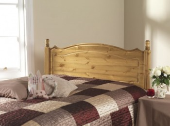 Friendship Mill Boston 4ft6 Double Pine Wooden Headboard