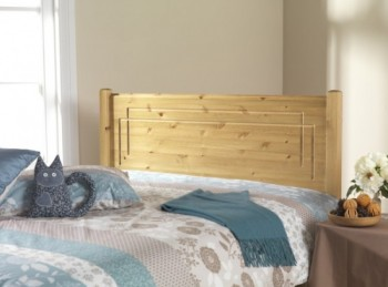 Friendship Mill Vegas 5ft Kingsize Pine Wooden Headboard