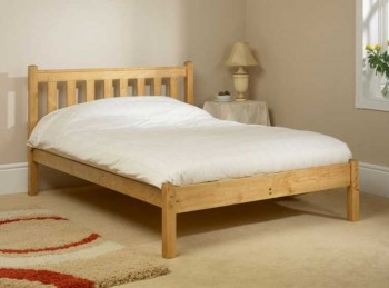 Friendship Mill Shaker Low Foot End 3ft Single Pine Wooden Bed Frame