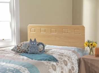 Friendship Mill Miami 4ft Small Double Beech Wooden Headboard