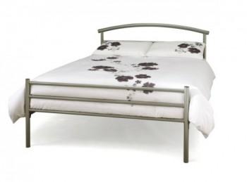 Serene Isabelle 3ft Single White Four Poster Metal Bed