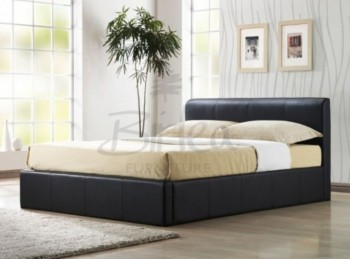 Birlea Ottoman 5ft Kingsize Brown Faux Leather Bed Frame