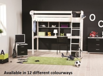 Thuka Trendy 33 High Sleeper Bed (Choice Of Colours)