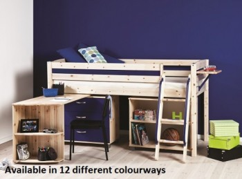 Thuka Trendy 11 Midsleeper Bed (Choice Of Colours)