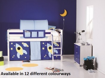 Thuka Trendy 12 Midsleeper Bed (Choice Of Colours)