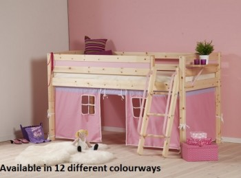 Thuka Trendy 16 Midsleeper Bed (Choice Of Colours)