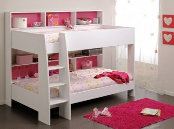 Parisot Tam Tam 2 White Childrens Bunk Bed