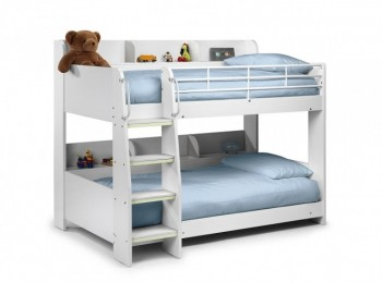 Julian Bowen Domino Bunk Bed in White