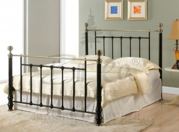 Birlea Charlotte 5ft King Size Black Metal Bed Frame