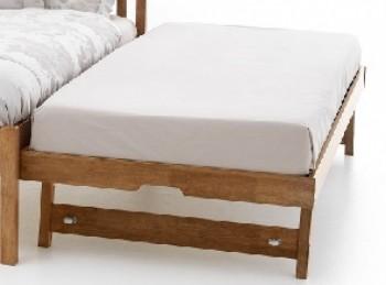 Serene Guest Trundle Underbed Wooden Frame 3ft Single Oak