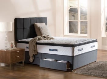 Sealy Burbank Posturepedic Platinum 3ft Single Divan Bed