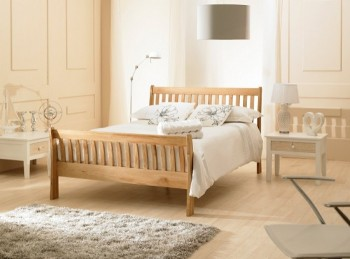 Emporia Richmond 5ft Kingsize Solid Oak Bed Frame By