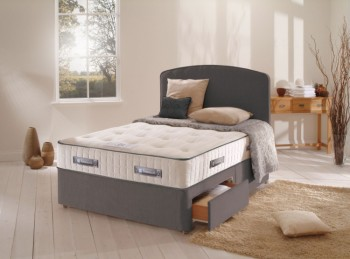 Sealy Francesca 1400 Pocket Ortho 3ft Single Divan Bed