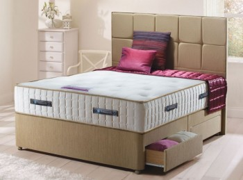 Sealy Roma 2400 Pocket Platinum Ortho 3ft Single Divan Bed