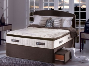 Sealy Sophia 1400 Pocket Gold 3ft Single Divan Bed