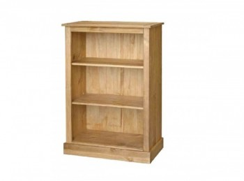 Core Cotswold Pine Low Bookcase