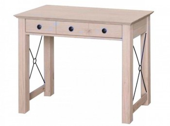 Core Pembroke Sandwash Effect Pine Console Dressing Table
