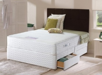 Sealy Backcare Premier Extra 5ft Kingsize Divan Bed